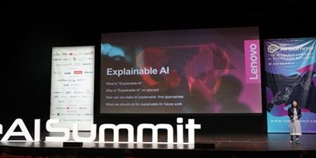 联想现身The AI Summit,展示人工智能普及前