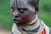 被遗忘的非洲部落 擅长人体彩绘的卡罗部落人