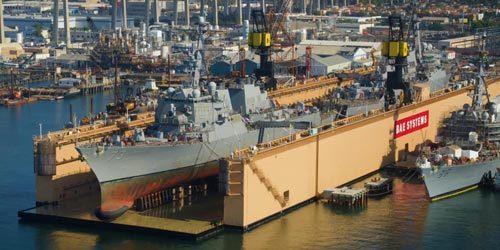 """美国炫耀""""一坞双舰""""维护能力 用的却是中国造船坞"""