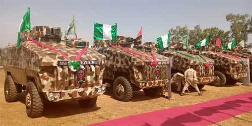 尼日利亚首款自研装甲车终于交付 造型很特别