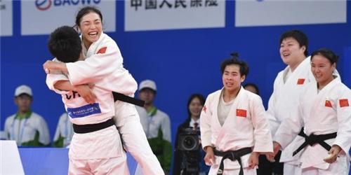 柔道女子团体:中国队夺冠
