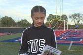 4岁女孩因事故右腿截肢 6年后为慈善完赛5公里