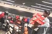 搬家式盗窃:美5名男子光天化日下偷走数十双鞋
