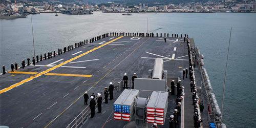 美军最强两栖战舰进驻日本 战力远超过轻型航母