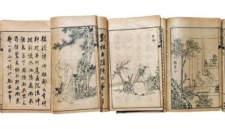 潘天寿从《芥子园画谱》学到了什么