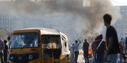 伊拉克示威抗议引发的冲突已致93人死亡