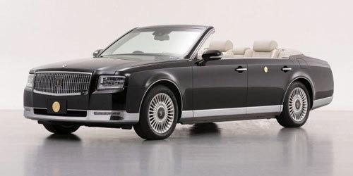 30年来首次换新 丰田推世纪皇家检阅车
