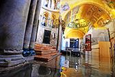 大半个威尼斯城被淹 圣马可大教堂遭洪水倒灌