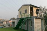 大叔為農民工發明折疊別墅 10分鐘就能搭建完成