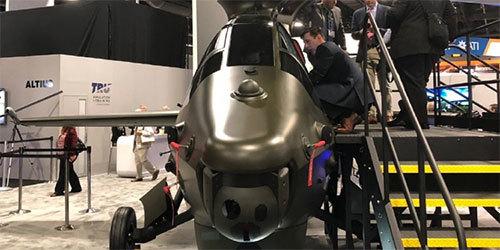 很科幻!美国贝尔公司展示下代武装直升机造型