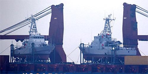 大船载小船:美国援助乌克兰2艘巡逻艇到货