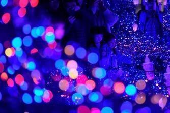 东京举办《阿拉丁》主题灯光展