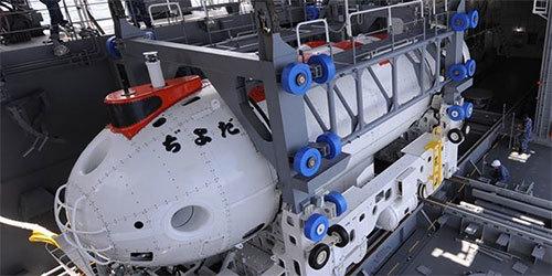 日本澳大利亚潜艇救难训练 日深海潜艇曝光