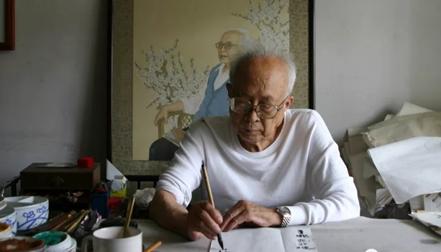 著名美术教育家、书画大家孙其峰先生