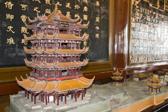 黄鹤楼的历代模型 始建于三国 唐宋明清多次被毁