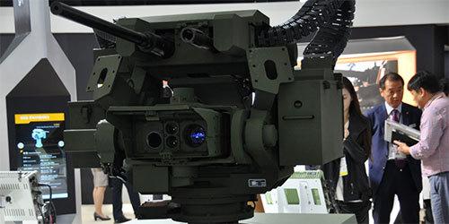 韩国防务展本土公司展示大批先进设备