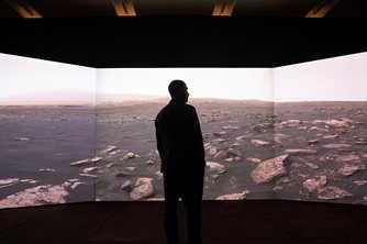 伦敦举行火星移民主题展览