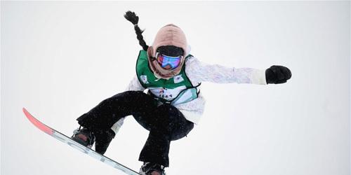 单板滑雪U型场地世界杯崇礼站