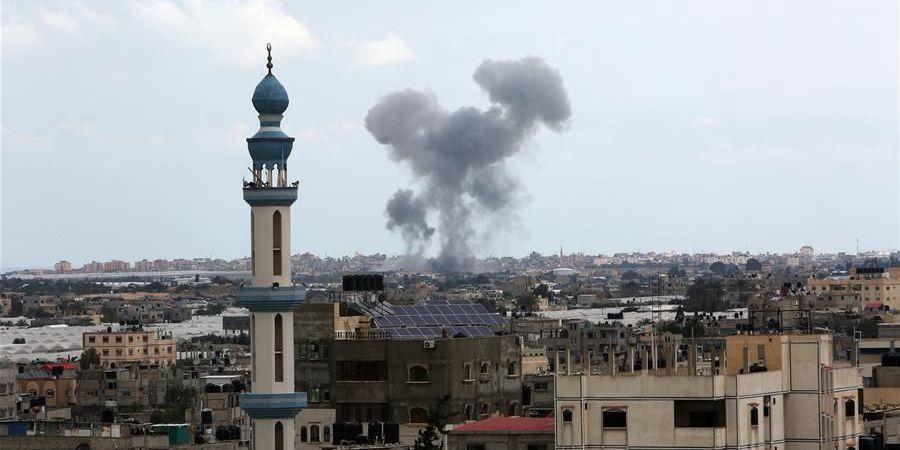 以色列空袭加沙地带杰哈德军事目标