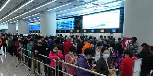 香港将于1月30日零时起关闭高铁西九龙站
