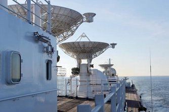 3艘远望号船布阵大洋做好测控准备