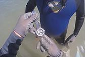 潜水员在海底发现价值数万元豪华手表 仍能使用