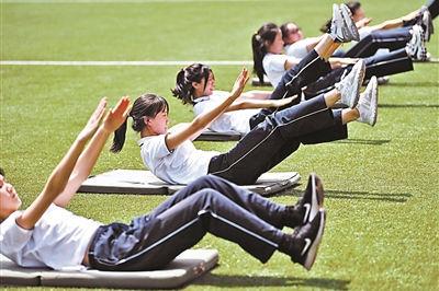 """北京体育中考将采用""""随堂考""""模式"""
