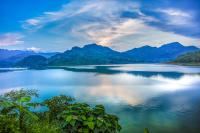 国内最大的人工湖之一,一水连三省,面积相当于76个杭州西湖