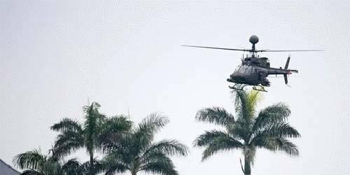 台媒:台军OH-58D直升机2年2次摔落事故教官是同一人