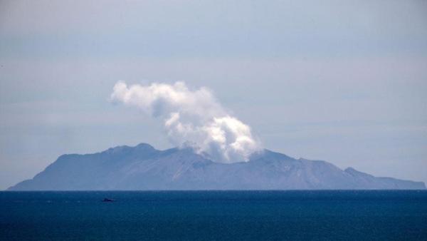 新西兰怀特岛火山持续震动