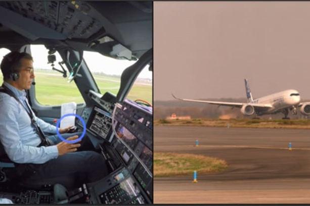 """空客:首次让飞机通过""""视觉""""全自动起飞"""