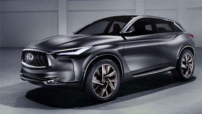 英菲尼迪推迟5个月量产全新轿跑SUV QX55