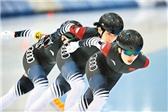 四大洲速滑赛:中国队获女团追逐铜牌