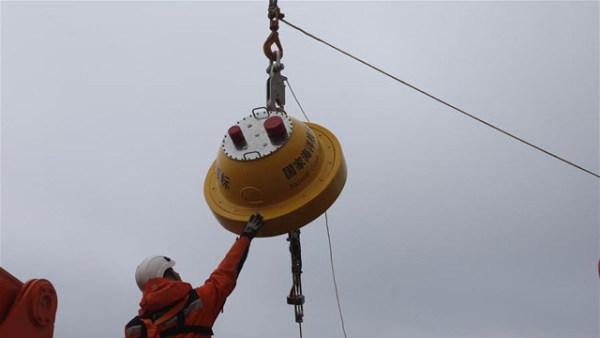中国南极考察队在西风带布放2套浮标