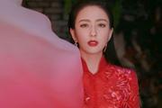 佟麗婭元宵節紅裙寫真曝光
