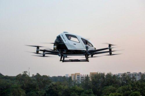 无人机第一股来了!亿航在纳斯达克挂牌上市