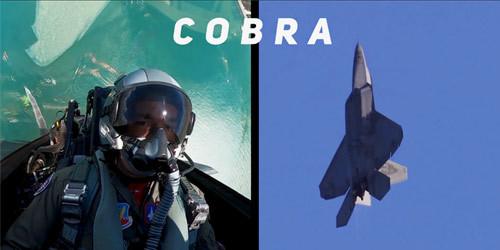美军F-22展示全套特技动作 眼镜蛇落叶飘不在话下