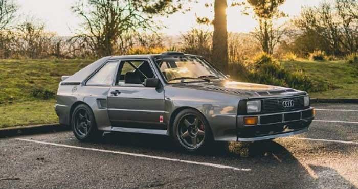 Audi Sport Quattro 复古款外形炫酷!