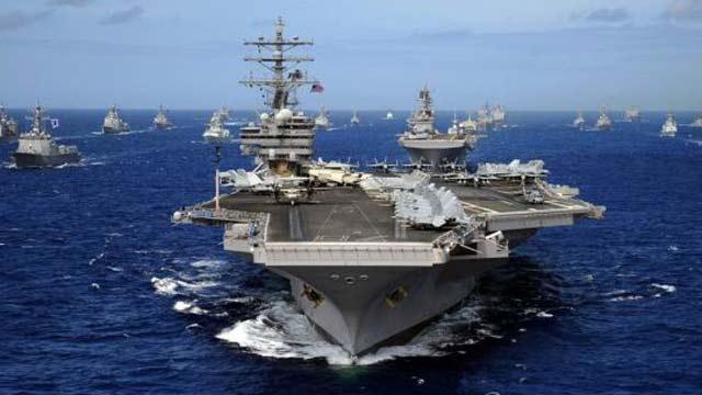 韩海军仅派两艘军舰参加美环太军演
