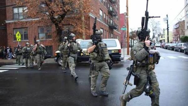 美国新泽西发生枪击事件
