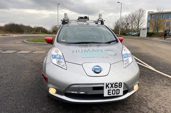 日產Leaf無人駕駛汽車完成230英里測試行駛