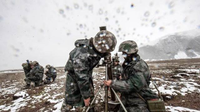 中国军人血性练兵