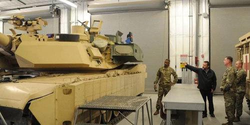 再也不怕反坦克导弹了?部署俄邻国美军坦克加装主动防御系统