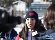 冬青奥会中国首金!杨滨瑜夺得速度滑冰女子集体出发金牌