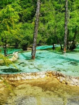 """世界自然遗产:黄龙风景名胜区,被称为""""人间瑶池""""的地方"""
