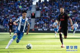 西甲:西班牙人平马德里竞技