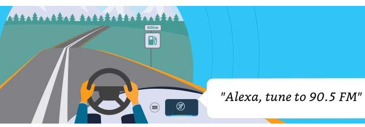 亚马逊发布Alexa Auto SDK 2.0 无网络连接使用部分功能
