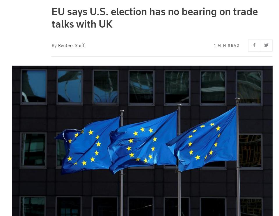 欧盟还没祝贺的缘故原由也来了。 第2张