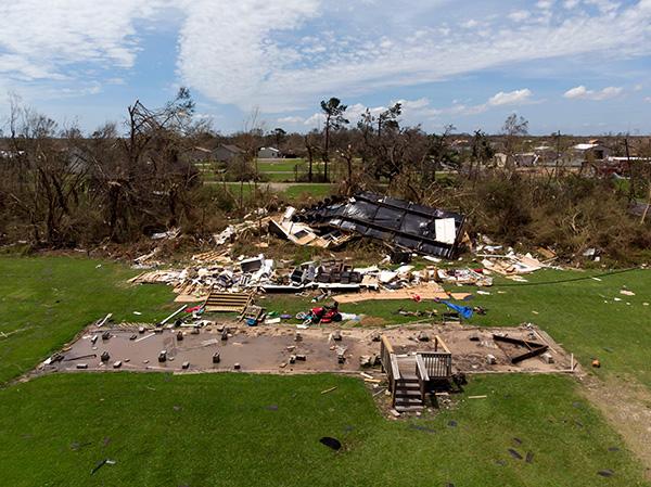 """皇冠足球:飓风""""劳拉""""袭击美国路易斯安那州,已致4人殒命 第1张"""