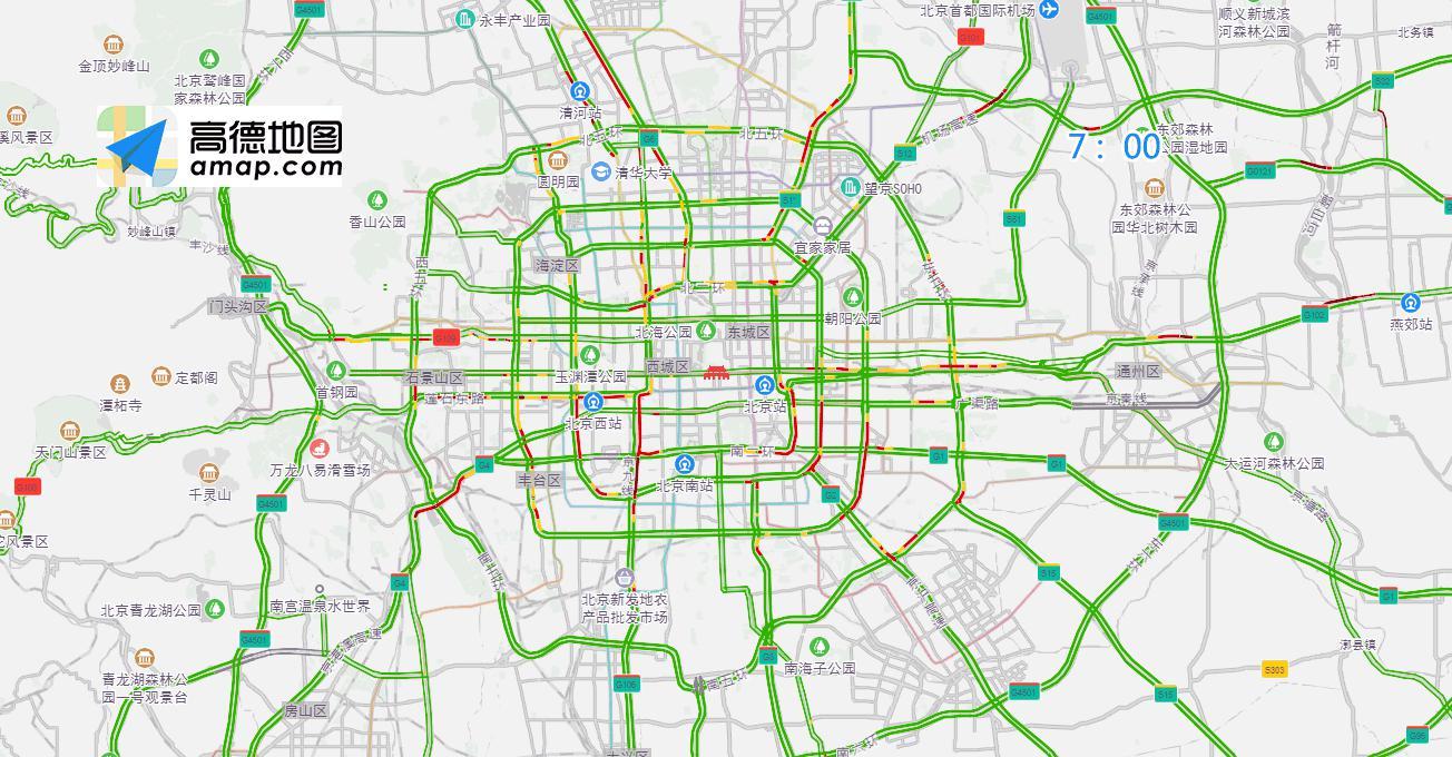 北京交警:全国两会期间 部分道路将临时管制